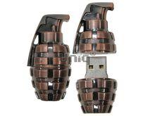 Флешка Uniq USB 2.0 ГРАНАТА, Bronze 4GB (04C38042U2)