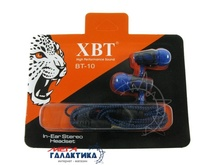 Наушники XBT BT-10 Blue Black