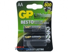 Батарейка GP AA    1.5V Lithium (15LF-U2)