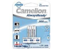 Аккумулятор Camelion AAA Always Ready 800 mAh 1.2V NiMh