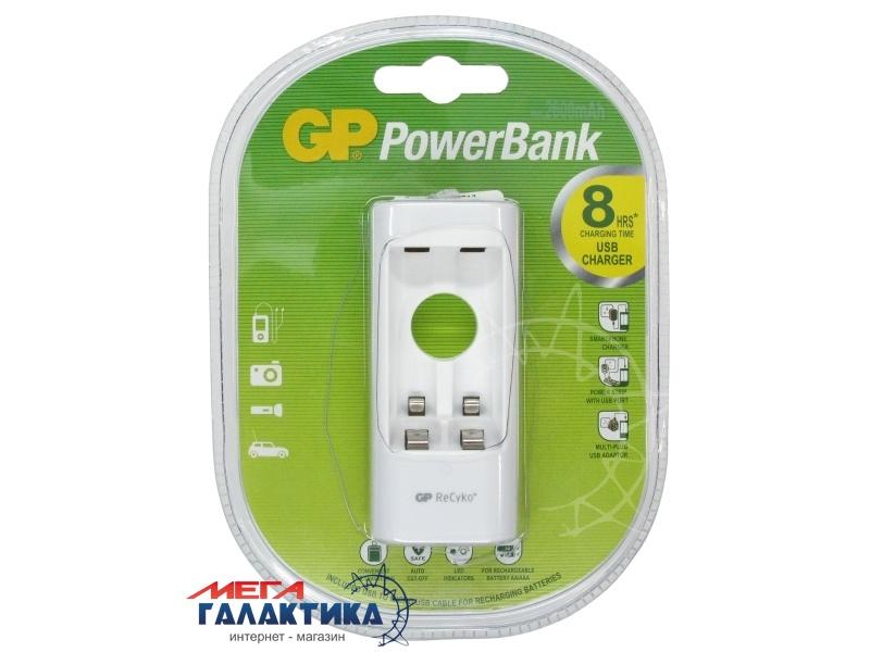 Зарядное устройство для аккумуляторов AA/AAA GP U211 (U211-210AAHCBWA12F) Фото товара №1