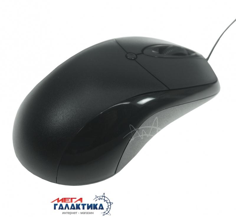 Мышка Мега Галактика MG1  USB  800 dpi  Black  Фото товара №2