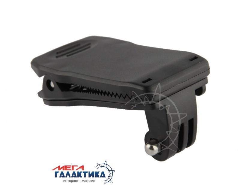 Крепление для GoPro Hero/2/3/3+/4 Megag прищепка, поворот 360° под съёмную пряжку  Black OEM Фото товара №1