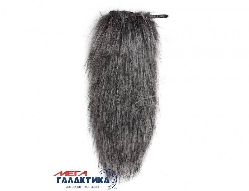 Ветрозащита на динамич. микрофон, 5x25, серый, ворсистый мех. Фото товара №1