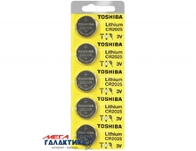 Батарейка Toshiba CR2025 160 mAh 3V Lithium (5903240991075)
