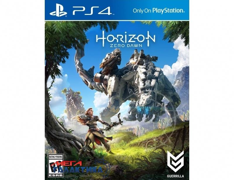 Игра Horizon Zero Dawn  (PS4, русская версия) Фото товара №1