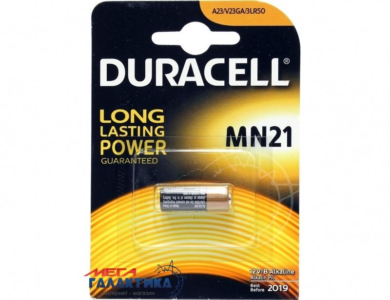 Батарейка Duracell MN21 (A23/K23A) 40 mAh 12V Alkaline (81546867) Фото товара №1