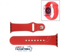 Ремешок Megag 38 мм For Apple Watch Sport  High-performance Rubber Sport Watchband с защелкой  Red