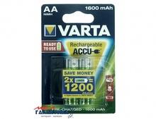 Аккумулятор Varta AA   1600 mAh 1.2V NiMh (56716101402)