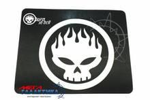 Коврик Megag Offspring    Резина + ткань Lightblue Black Несдвигаемый