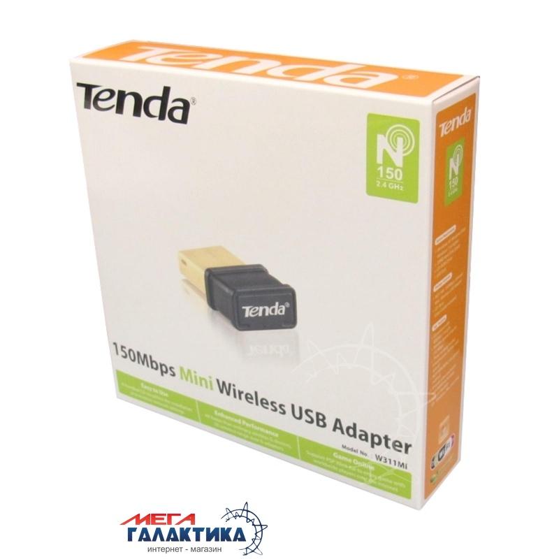 WiFi-адаптер Tenda W311Mi 802.11n 150Mbps, Pico, USB Фото товара №2