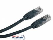 Кабель Cablexpert Витая пара (RJ45)   CAT5e PP12-2M/BK 2m Black OEM