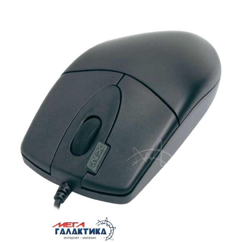 Мышка A4Tech OP-620D (4711421705585) USB  800 dpi  Black  Фото товара №2