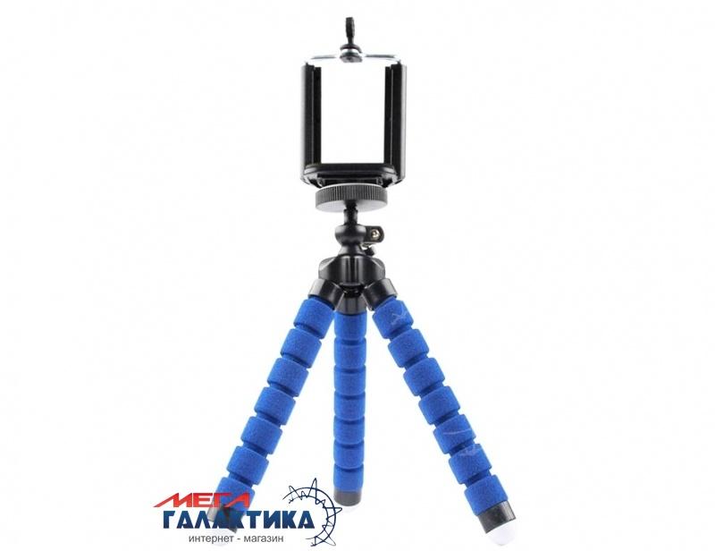 Штатив для телефона Megag Mini Action (Tripod) Blue Фото товара №1