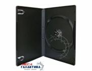DVD Box на 1 диск 7мм Black,  Глянцевый