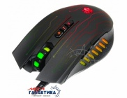 Мышка A4Tech Bloody Q81 Neon XGlide (4711421931052) USB  5000 dpi  Black