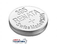 Батарейка Renata SR927SW (Часовая) (395) 55 mAh 1.55V Alkaline (5951679)