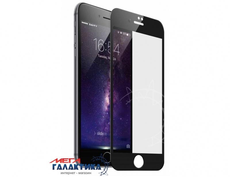 Защитное стекло Megag для  Apple iPhone 7 / iPhone 8 (5D) противоударне Black OEM Глянец  4.7