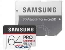 Карта памяти Samsung micro SDHC 64GB (MB-MJ64GA/RU) +адаптер sd
