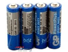 Батарейка GP AA GP15C-S4 PowerPlus  1.5V Carbon-Zinc (Солевая)