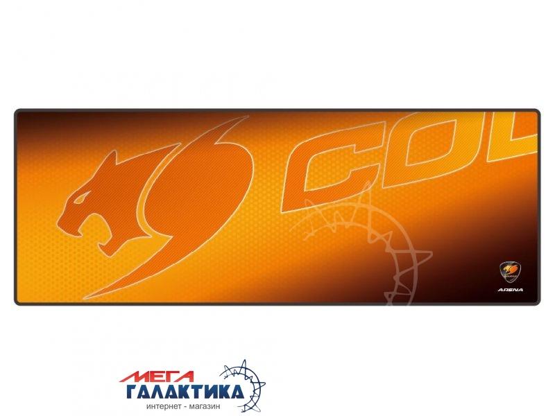 Коврик Cougar Arena     Резина + ткань Orange  Фото товара №1