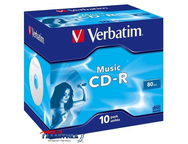 Диск CD-R Verbatim Music Life Plus 700MB 52x 43365 Фото товара №1