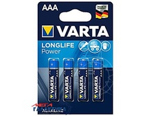 Батарейка Varta AAA LONGLIFE Power  1.5V Alkaline (Щелочноя) (4903121414)