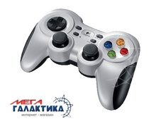 Джойстик Logitech Wireless Gamepad F710 Wireless+USB 10 программируемых кнопок Retail (940-000145) Silver Black