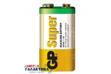 Батарейка GP Krona (6LF22) Super  9V Alkaline (Щелочноя) (4891199006500)