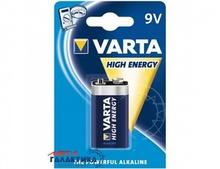 Батарейка Varta Krona (6LF22) High Energy  9V Alkaline (Щелочноя) (4922121411 )