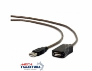 Удлинитель Cablexpert USB AM (папа) - USB AF (мама)   UAE-01-5M 5m Black Retail