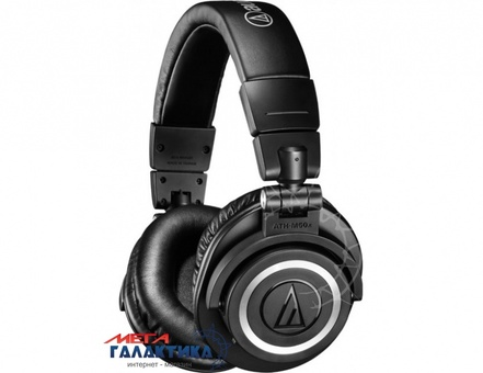 Гарнитура Audio-technica ATH-M50xBT Black