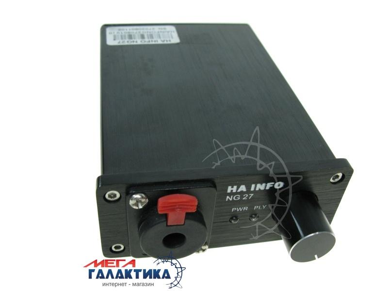 Усилитель для наушников HA INFO NG27 Black  Фото товара №1