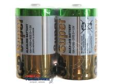 Батарейка GP D Super  1.5V Alkaline (Щелочноя)
