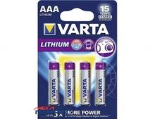 Батарейка Varta AAA   1.5V Lithium (4203)