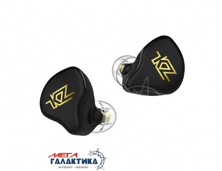 Гарнитура KZ T1 TWS гибридная Black