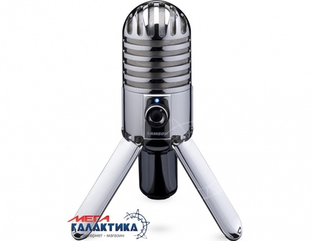 Микрофон Samson Meteor Mic Проводное Chrome Box