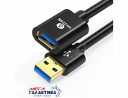 Удлинитель Biaze USB AM (папа) - USB AF (мама) USB 3.0   3m Black OEM