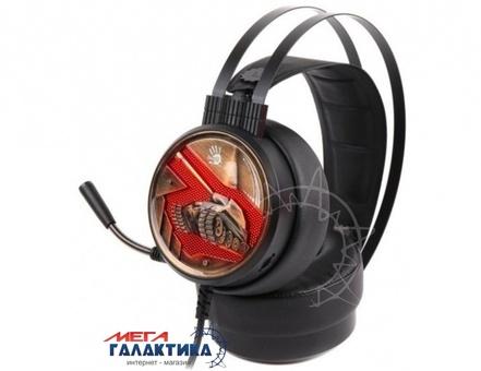 Гарнитура для ПК A4Tech G650S Bloody Red Black