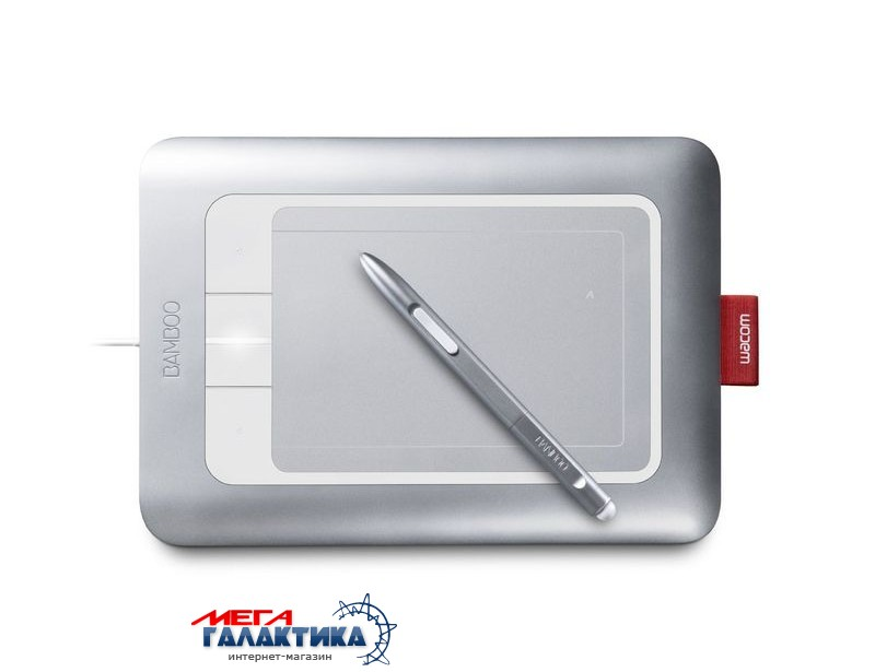 Wacom Fun Small Bamboo Pen&Touch USB CTH461/S0-F Фото товара №1