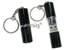 Флешка Uniq USB 2.0 ПОМАДА черный [пластик] 4GB (04C00799U2)