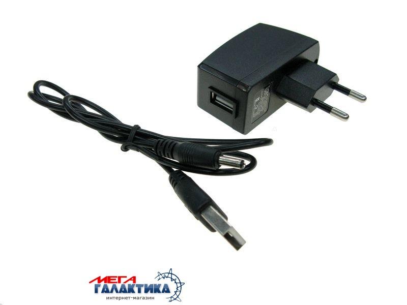 Блок питания + кабель для USB HUB (T-T) 110-240V/5V 0.5A  и др. USB устр-в Фото товара №1