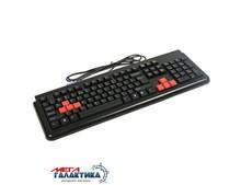 Клавиатура A4Tech G300  USB Black Рус / Eng