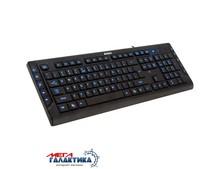 Клавиатура A4Tech KD-600L  USB Black Подсветка клавиш Рус / Eng