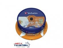 Диск DVD-R Verbatim Archival Grade Photo 4.7GB 8x Printable (печать на струйных принтерах) 43634